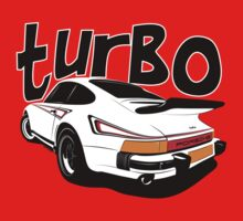 Porsche 911 Turbo Kids Tee