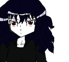 Dark Anime girl by yaminochikara