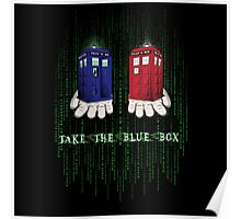 Take The Blue Box Poster