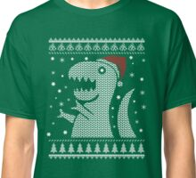 Christmas Dino Ugly Sweater T-Shirt Classic T-Shirt
