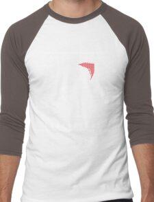 Christmas Dino Ugly Sweater T-Shirt Men's Baseball ¾ T-Shirt