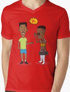 the handshake Mens V-Neck T-Shirt