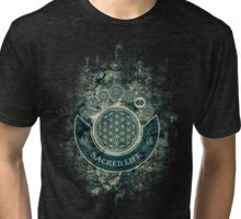 Sacred Geometry for your daily Life Tri-blend T-Shirt