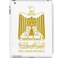 Spicy Arab Republic - Coat of Arms iPad Case/Skin