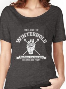 College of Winterhold - Jersey Style Women's Relaxed Fit T-Shirt