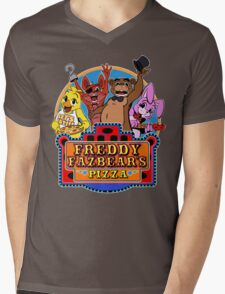 Fun times at Freddy's Mens V-Neck T-Shirt