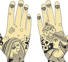 Henna Hands by Laura Potter-Dunn