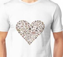 Leaf heart Unisex T-Shirt