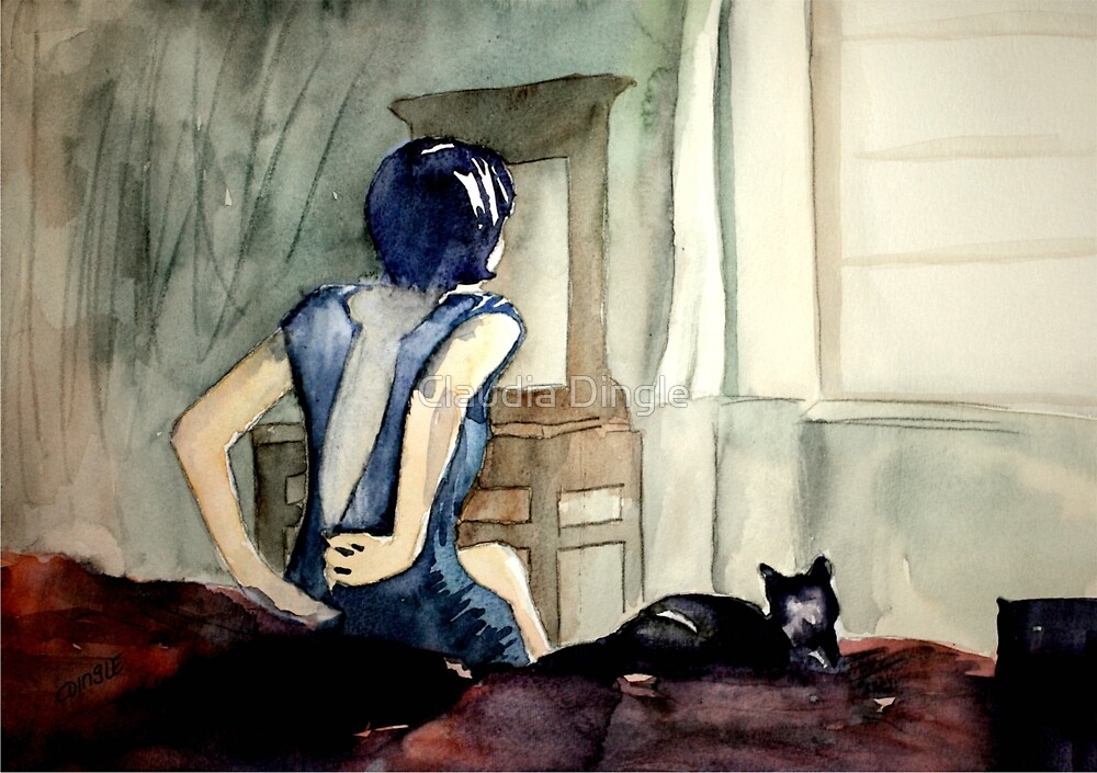 maybe she was more cat than human, she thought by Claudia Dingle