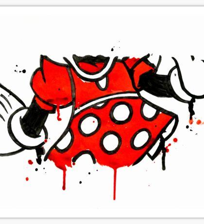 Minnie Mess - Body Sticker