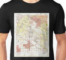 USGS TOPO Map California CA Whittier 301361 1949 24000 geo Unisex T-Shirt