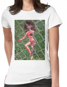 Escape From  The Doodle Monster Womens Fitted T-Shirt
