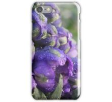 Delphinium Purple iPhone Case/Skin