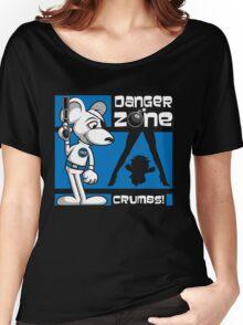 Danger Zone - blue Women's Relaxed Fit T-Shirt
