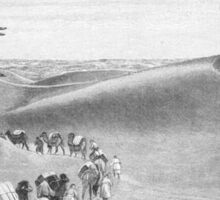 desert elephants Sticker