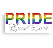 Equal Love Canvas Print