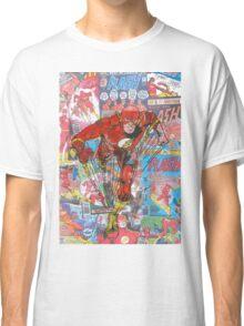 Vintage Comic Flash Classic T-Shirt