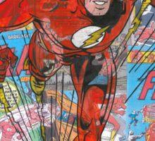 Vintage Comic Flash Sticker