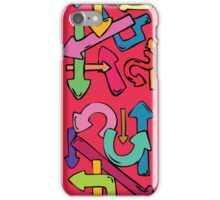 Directionaly challenged iPhone Case/Skin