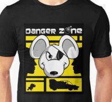Danger Zone - yellow Unisex T-Shirt
