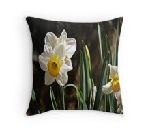 Daffodil or Narciso? Throw Pillow