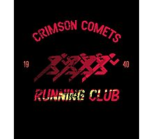 Comets Running Club Photographic Print