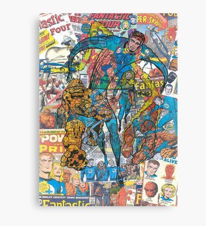 Vintage Comic Fantastic Four Canvas Print