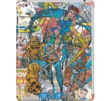 Vintage Comic Fantastic Four iPad Case/Skin