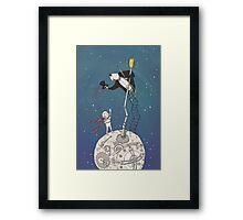The Little Prince : Hello Lamplighter Framed Print