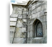 Granite Tomb Canvas Print