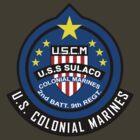 Aliens - U.S.S. Sulaco - Colonial Marine Corps (Insignia) by James Ferguson - Darkinc1
