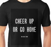 Cheer Up or Go Home - Track Artwork Unisex T-Shirt