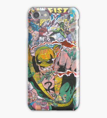 Vintage Comic Iron Fist iPhone Case/Skin