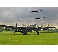 3 Lancasters - East Kirkby  Photographic Print