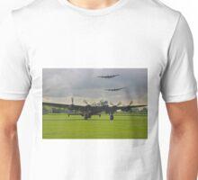 3 Lancasters - East Kirkby  Unisex T-Shirt