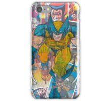 Vintage Comic Wolverine iPhone Case/Skin