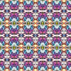 Colorful Abstract Pattern by perkinsdesigns