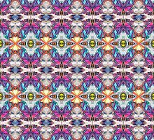 Colorful Abstract Pattern by Phil Perkins