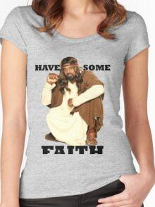 BLACK JESUS Women's Fitted Scoop T-Shirt