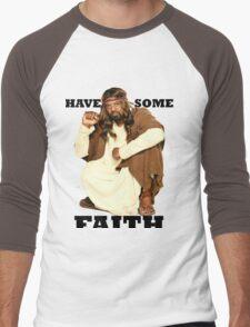 BLACK JESUS Men's Baseball ¾ T-Shirt