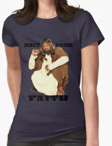 BLACK JESUS Womens Fitted T-Shirt