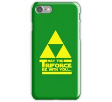 May the Triforce be with you... iPhone Case/Skin
