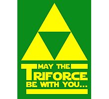 May the Triforce be with you... Photographic Print