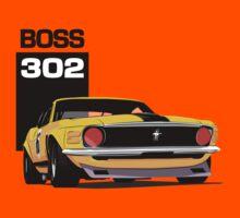 Ford Mustang Boss 302 Kids Tee