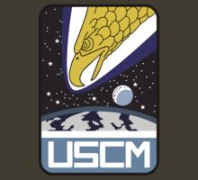 Aliens - US Colonial Marine Corps (Color Insignia) by James Ferguson - Darkinc1