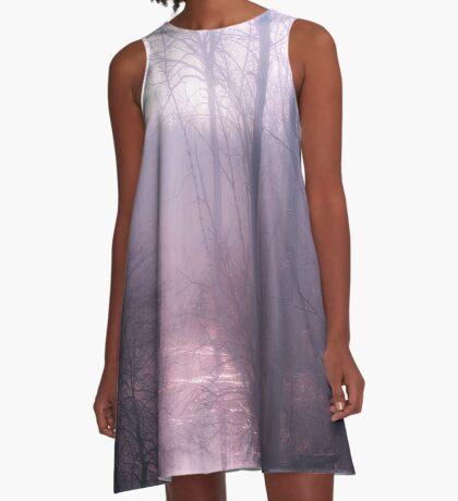 Leave Me Lonely  A-Line Dress