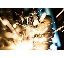 Welding Photographic Print