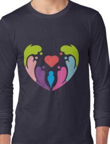 COLORFUL LOVE Long Sleeve T-Shirt