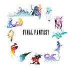 Final Fantasy by bluerockerzoo