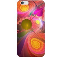 Curling up iPhone Case/Skin